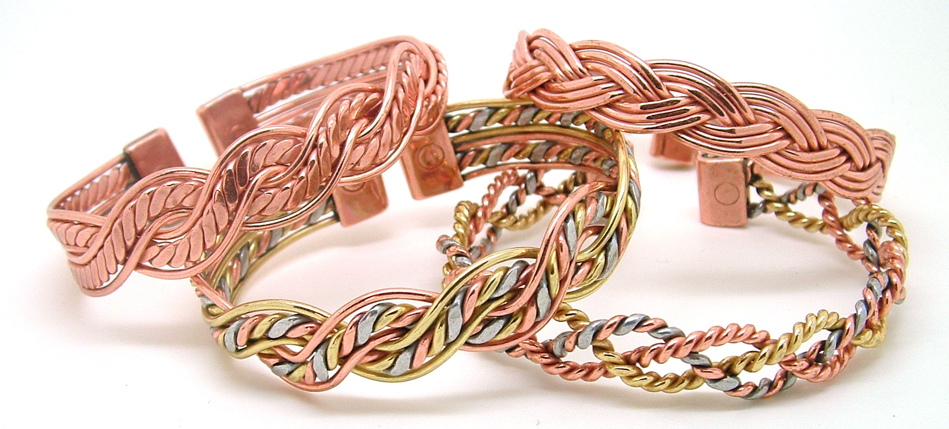 Quality Handcrafted Magnetic Copper Bracelets